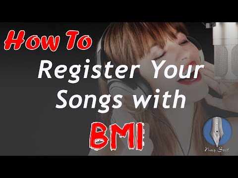 How To Register Your Song with BMI