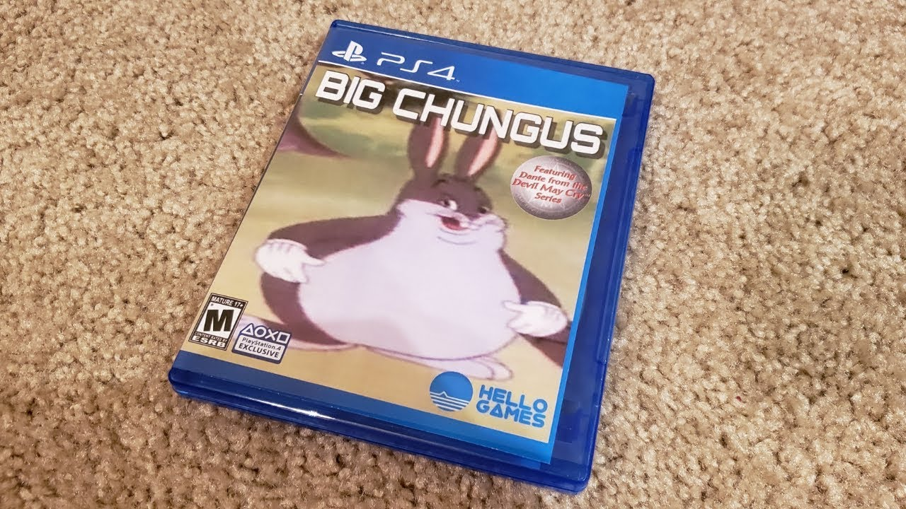 I Got Big Chungus For Ps4 Surprise Gift From Ebay Best Gift Ever