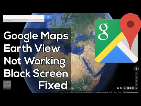 How To Fix Google Maps Earth View 3D not Working (Black Screen) thumbnail
