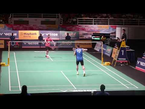 Lee Chong Wei Was Unstoppable! Vs Tommy Sugiarto Malaysia Masters