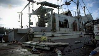 Remontowali starą barkę, żeby miała gdzie mieszkać! [Odludna wyspa]