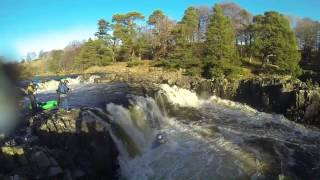 Kayaking on the River Tees - High Force to Low Force