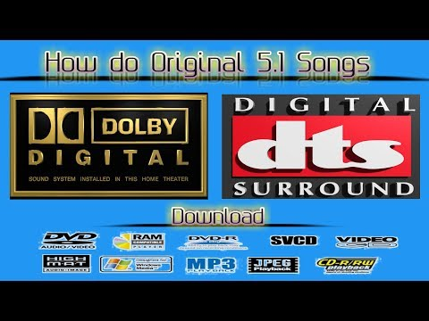 How do download Dolby Digital songs and 5.1 HD audio songs TAMIL