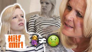 Verlogene Schwiegermutter: Du bist schwanger! Nicht krank! | Hilf Mir!