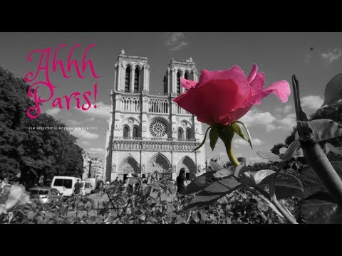 Ahhh Paris! | Travel Day and Sightseeing! [4k]