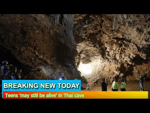 Breaking News - Teens 'may still be alive' in Thai cave
