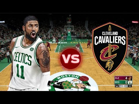 CAN KYRIE IRVING BEAT THE CAVALIERS BY HIMSELF ? 2K18 NBA Celtics vs Cavs