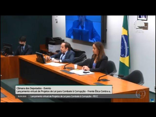 Jornal Nacional - Ganime e bancada do NOVO apresentam 9 projetos de combate à corrupção