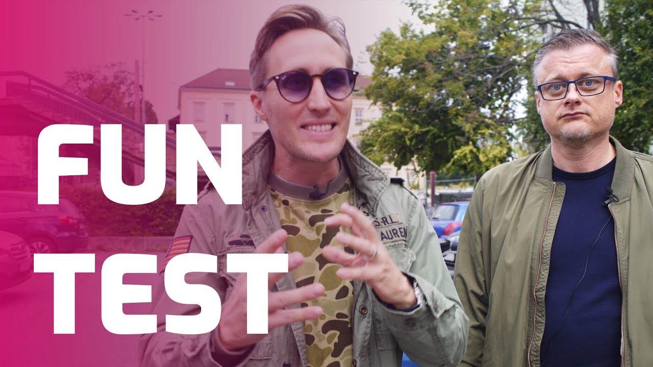 FUN TEST: Sajfa s Truhlíkom VS. Renault ZOE - YouTube