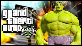 HULK IN GTA 5 !