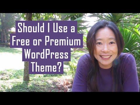 should-i-use-a-free-wordpress-theme-or-premium-wordpress-theme