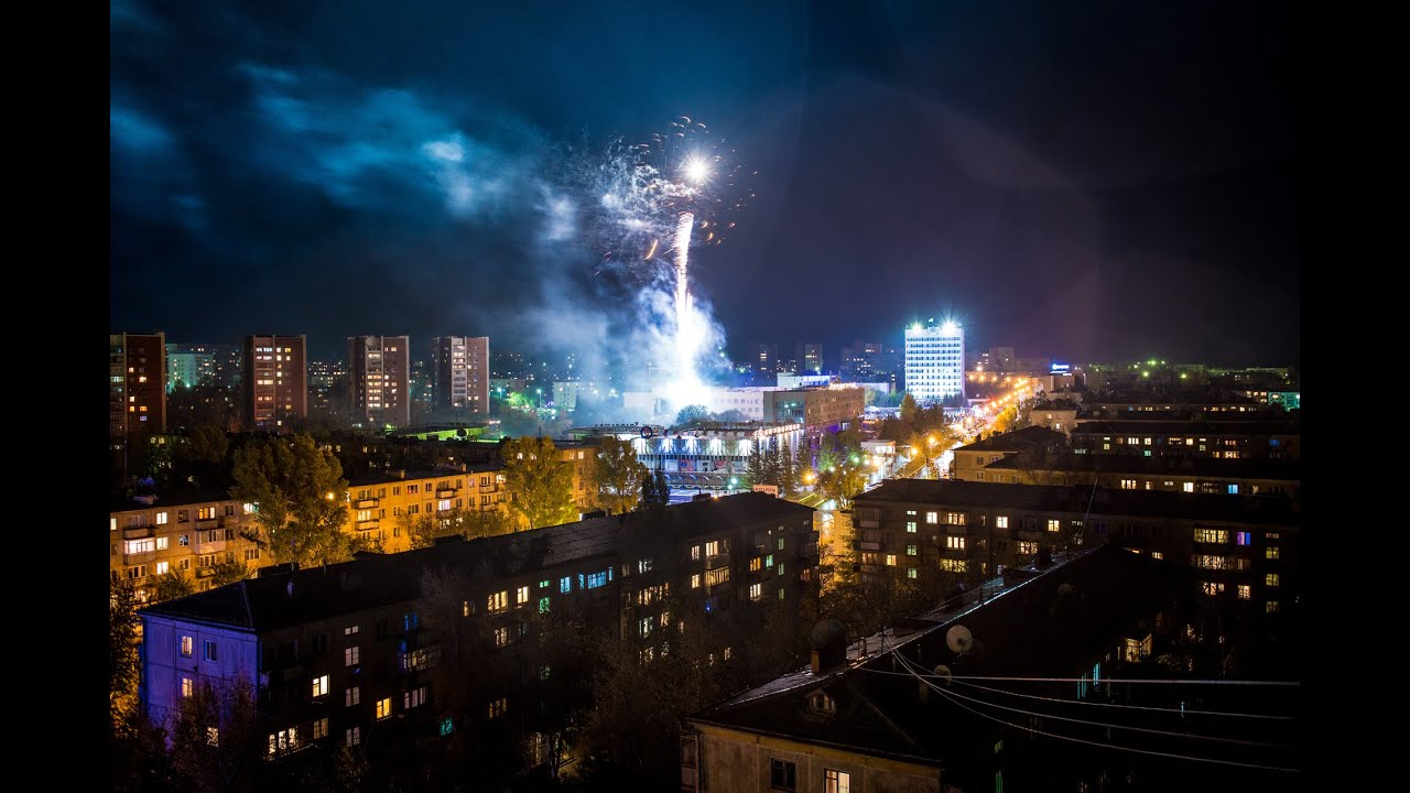 Степногорск 50 лет! Timelapse Stepnogorsk 2014 - YouTube