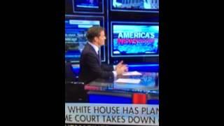 Repeat youtube video Bill Hemmer drops F-bomb on live TV Fox News fail