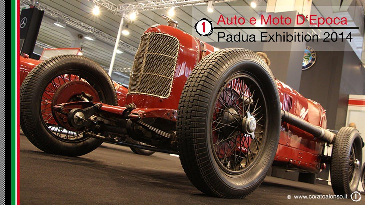 Auto e moto d 39 epoca fiera di padova 2014 padua exhibition for Fiera arredamento padova
