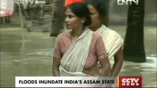 FLOODS INUNDATE INDIA