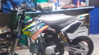 Pit bike YCF Factory SP2 2013 150 YX