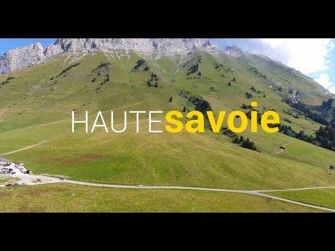 Vidéo IRL - Vacances Haute Savoie avec le Phantom 4