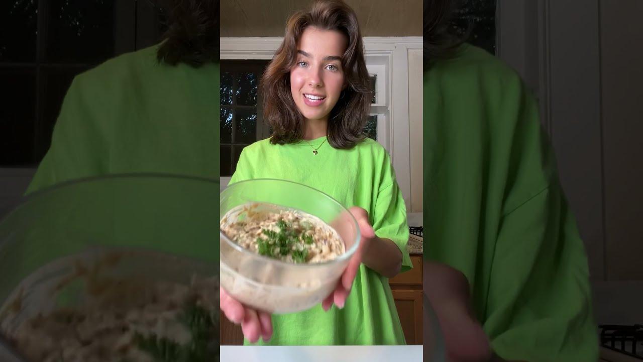 "vegan ""tuna"" salad #youtubepartner"