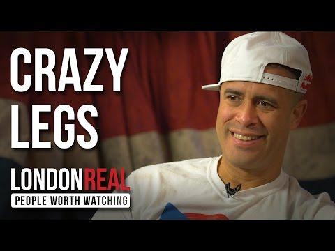 BBOY CRAZY LEGS - ROCK STEADY - PART 1/2 | London Real
