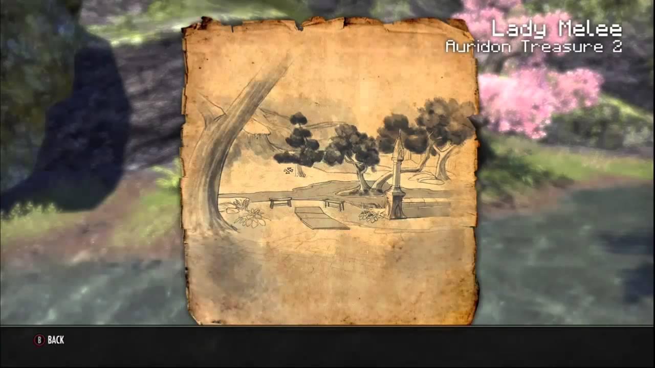 Auridon Treasure Map 2 - YouTube