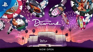 GTA Online | The Grand Opening of The Diamond Casino & Resort | PS4