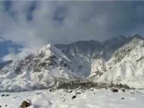 Snowfall in northern areas of pakistan