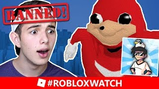 Roblox PERM BANNED LandonRB! #RobloxWatch MEME NOT ALLOWED And Tacticles Reaches 100K!