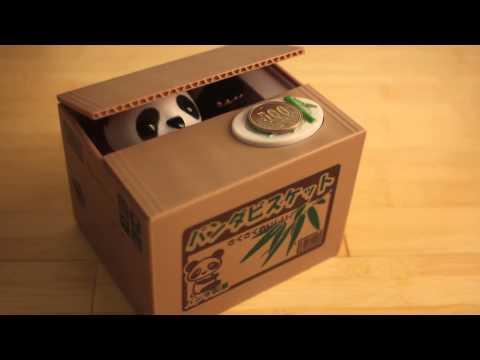 Japancast - Itazura Mikan coin stealing Panda
