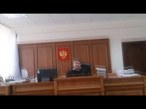 Видеозапись в судебном заседании с царского разрешения органов власти - Судебные страсти модокп!