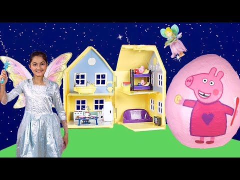 Peppa Pig English Episodes - The Toothfairy & Trip to the Dentist! New 2017 Peppa Pig Toys Video