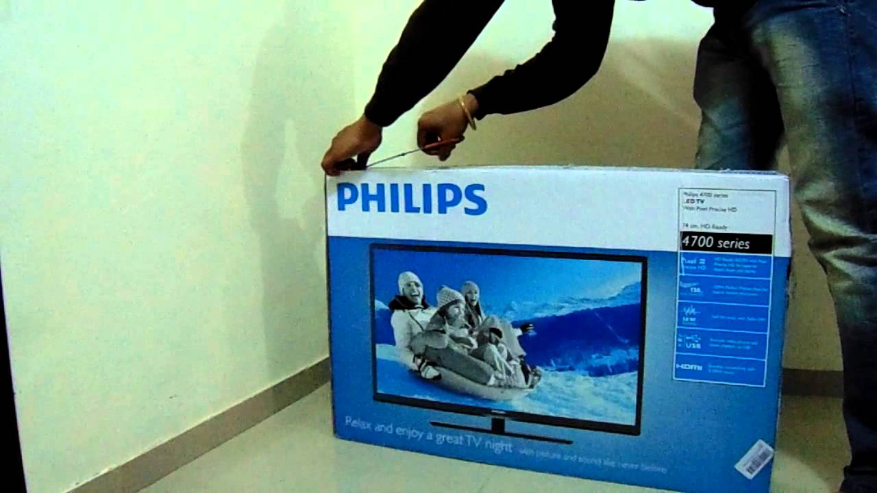 philips 29pfl4738 71 cm hd ready led tv black youtube. Black Bedroom Furniture Sets. Home Design Ideas