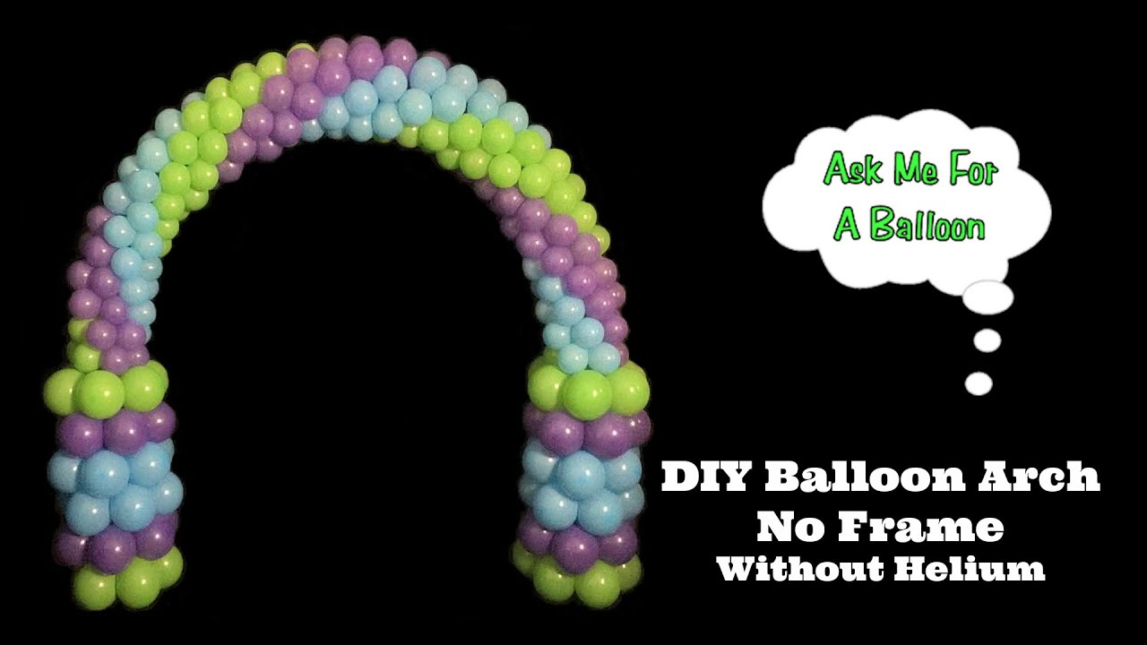 DIY Balloon Arch   YouTube