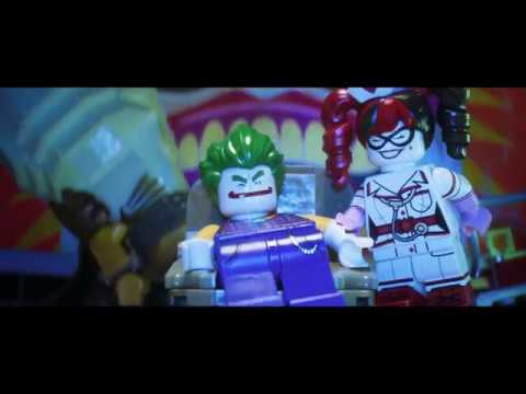 The Joker On The Couch And Superman On The News Scene The Lego Batman Movie Youtube