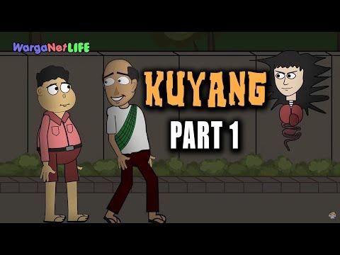 Penampakan Hantu Kuyang / Palasik | Animasi Horor Kartun Lucu | Warganet Life Official