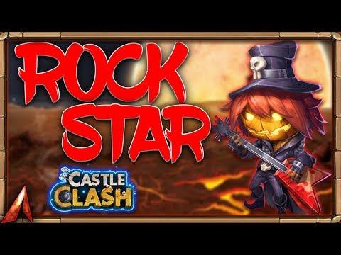 Pumpkin Duke SKIN In ACTION! ROCKER DUKE! Castle Clash