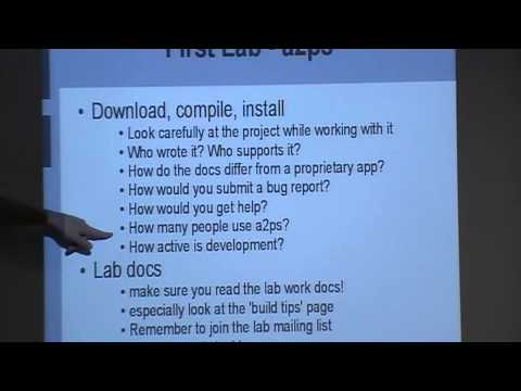 COMP8440 2009 Lecture 01-2 Introduction to Free and Open Source Software