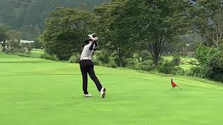 APGC Junior Championship Mitsubishi Corporation Cup 2019 Atthaya Thitikul's golf swing