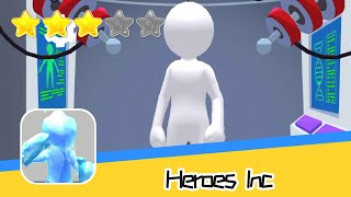 Heroes Inc. Walkthrough Create New Super Heroes Recommend index three stars