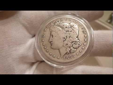 1883 S Morgan Silver Dollar Coin Review