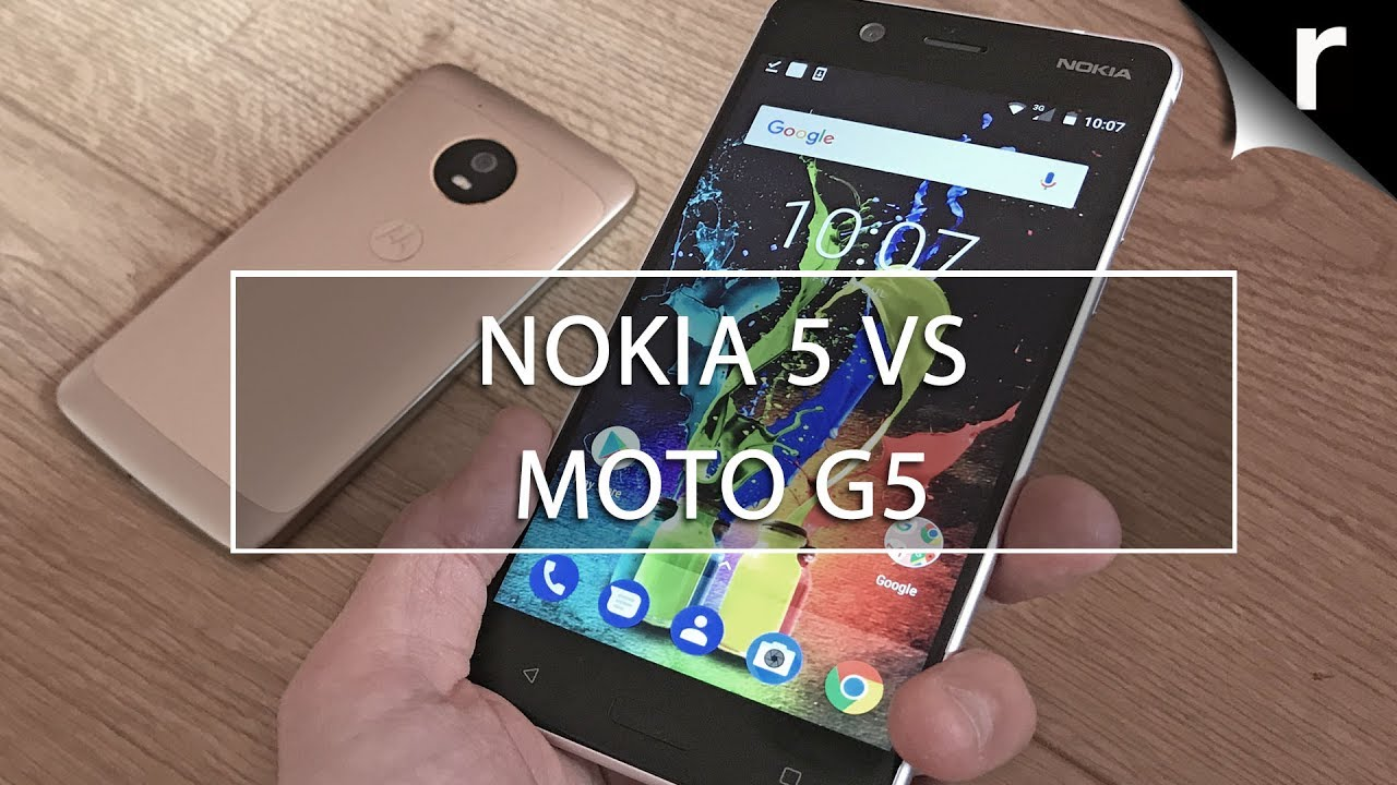 Nokia 5 vs Moto G5: Which mid-range mobile is best?