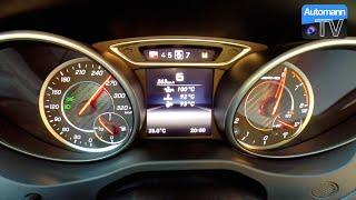 Performmaster A45 FL (410hp) - 0-284 Km/h RACE START (60FPS)