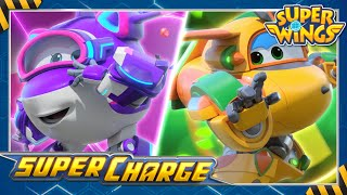 [super wings season4] Supercharged Crystal & Bucky!