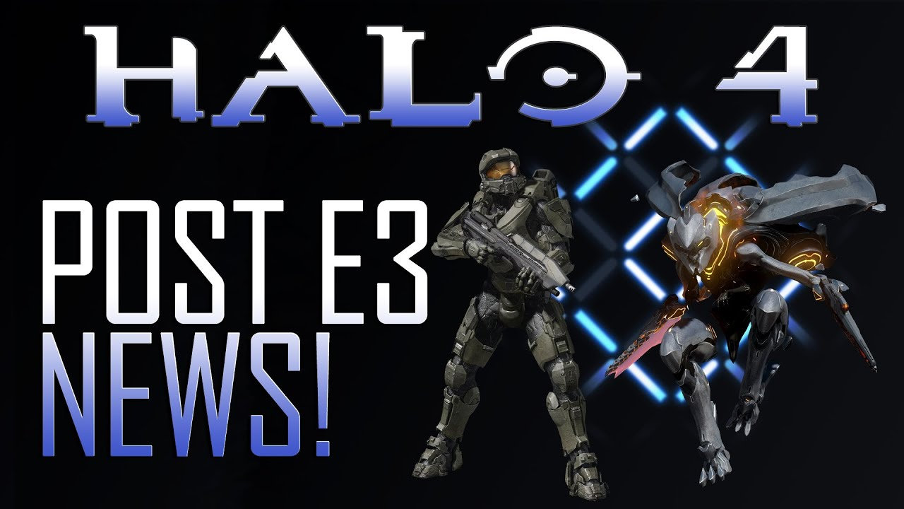 Halo 4! Prometheans, Pre-Order Bonuses, Custom Loadouts, Armor Abilities &  More!