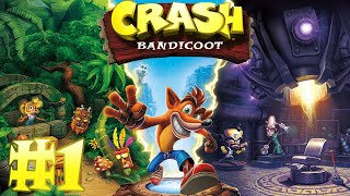 Crash Bandicoot #1 ► Стрим