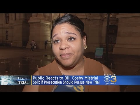 Philadelphians React To Bill Cosby Mistrial