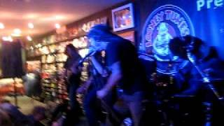 "Shadows Fall ""My Demise"" live at Looney Tunes on Long Island"