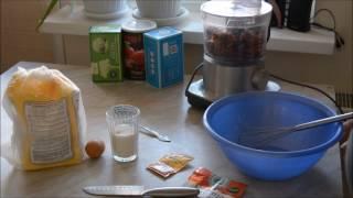 Как приготовить простой яблочный пирог в мультиварке/How to cook Apple pie in a slow cooker
