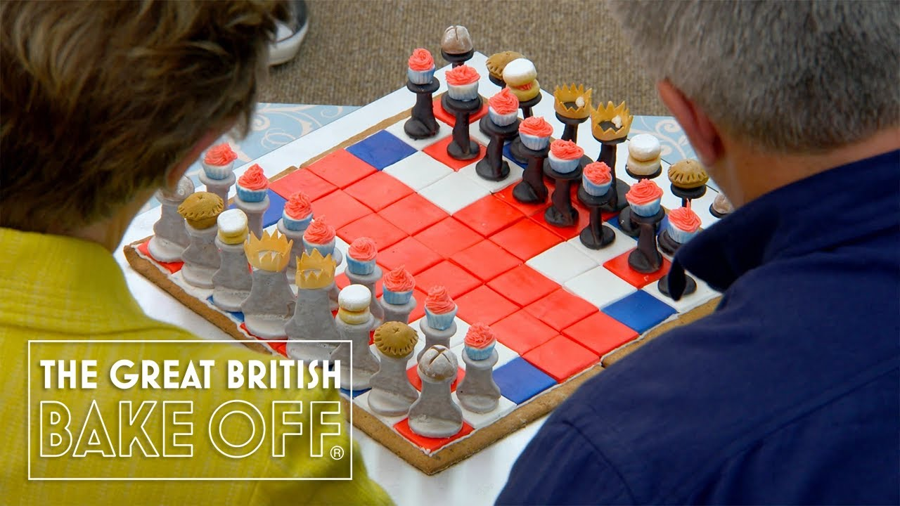 Incredible board games you can EAT 😋 | The Great British Bake Off