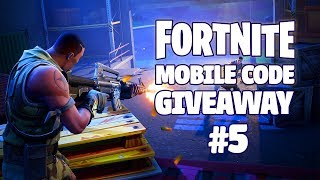 Fortnite Mobile - Final Beta Code Giveaway (Discord) #5