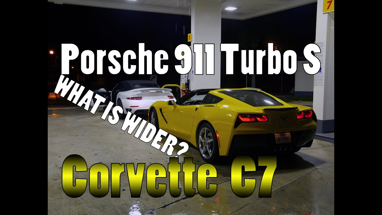 maxresdefault Mesmerizing Porsche 911 Turbo Vs Z06 Cars Trend